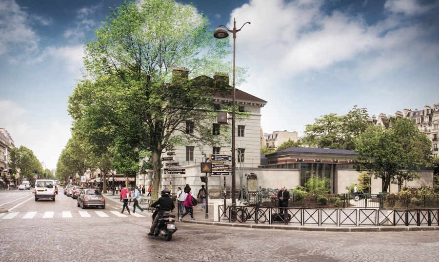 Place Denfert-Rochereau, le musée de la Libération de Paris - musée du général Leclerc - musée Jean Moulin © Ch. Batard, Agence Artene