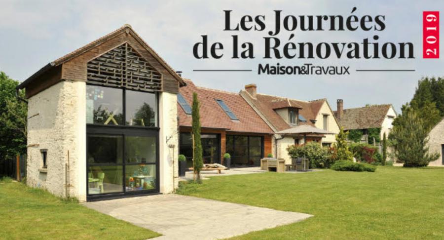 Les Journées de la rénovation, le 28 et 29 septembre 2019 © Maison&Travaux via CP