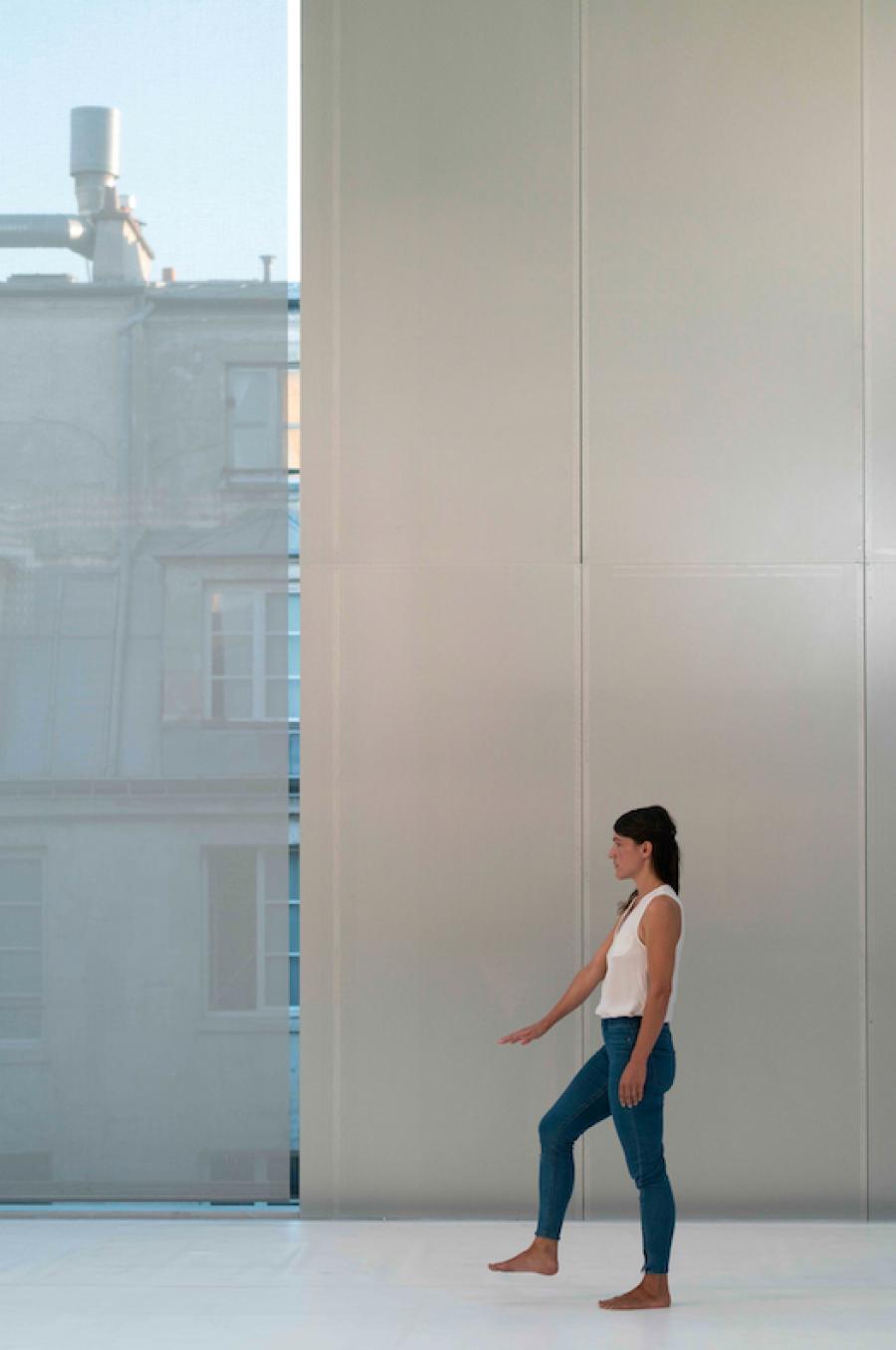 Se Sentir Vivant, Yasmine Hugonnet © Marc Domage, Lafayette Anticipations