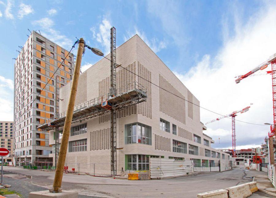 Groupe scolaire Chapelle International - Arch. toa architectes associés - Image : © Pascal Dhennequin / DCPA