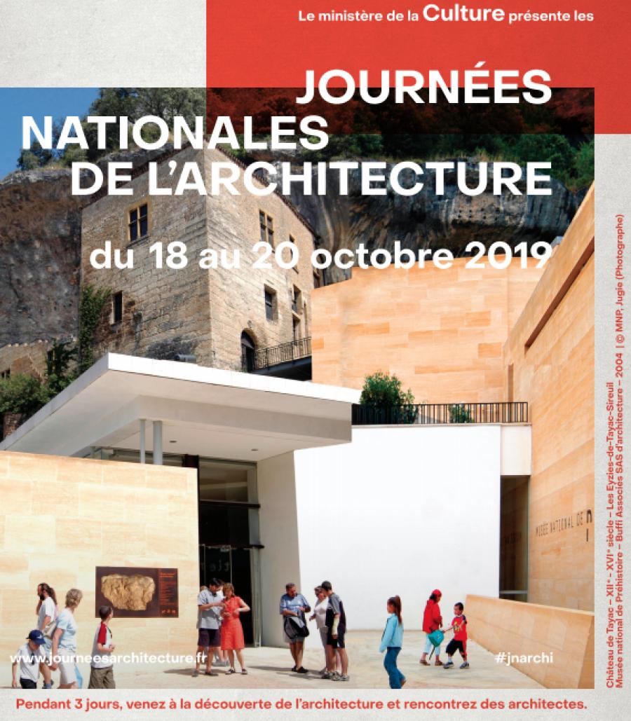 Musée National de Préhistoire - Arch. Buffi Associés SAS d'architecture © MNP, Jugie via culture.gouv / JNA2019