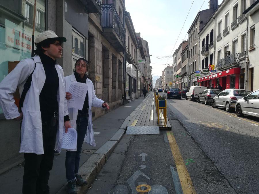 Podcast Les cœurs stéphanois à Saint-Étienne. Une visite loufoque organisée par l'EPASE et l'ANPU. Production : temaprod © Marie Crabié, temaprod