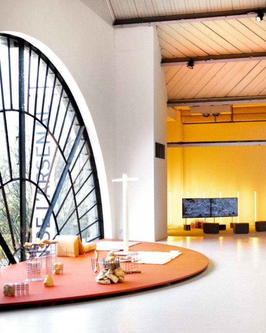 Exposition Pli Public Workshop au Pavillon de l'Arsenal à Paris © Bonjour Garçon Studio