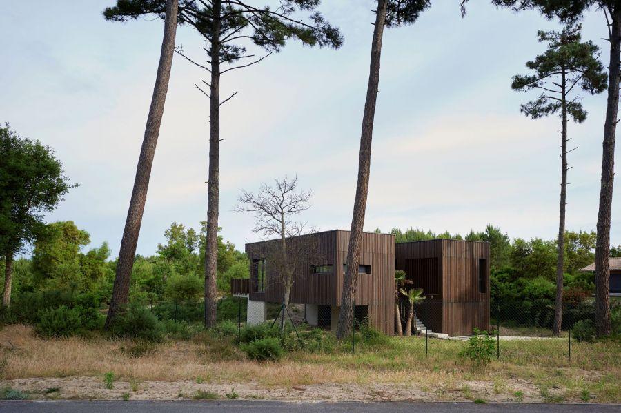 La Maison des Landes - Arch. Maud Caubet Architects - Photo : Julien Lanoo