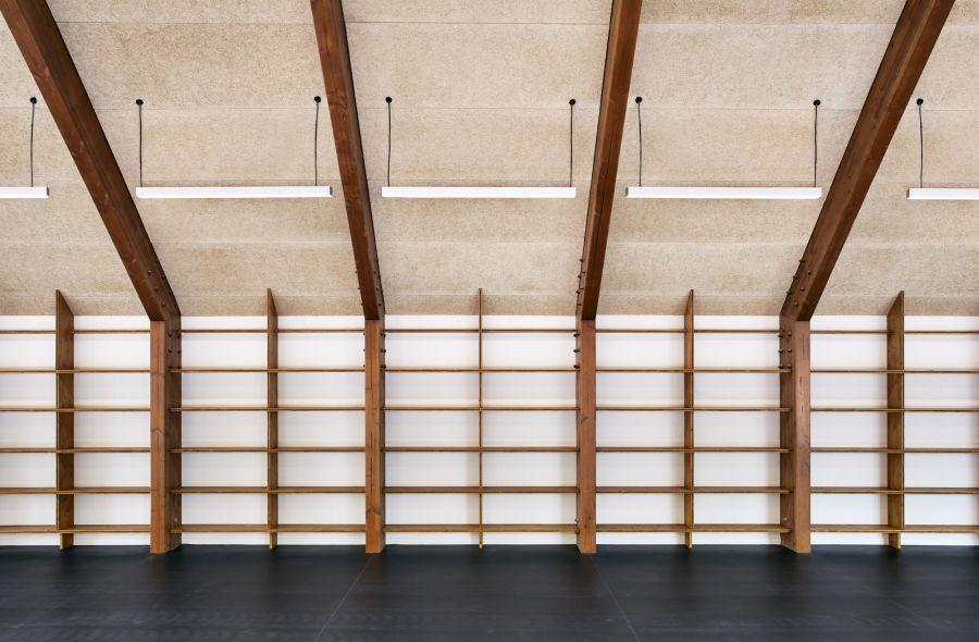 Pôle Social & Culturel à Cabourg - Arch. Lemoal Lemoal Architectes - Photo : Javier Callejas