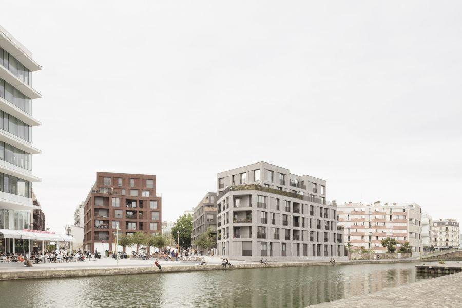 Lots 5 & 6 de la Zac des Grands Moulins à Pantin - Arch. Avenier Cornejo Architectes - Photo : Schnepp Renou