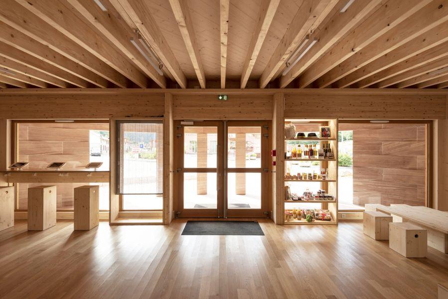 Office de Tourisme à Plainfaing - Arch. Studiolada © Ludmilla Cerveny