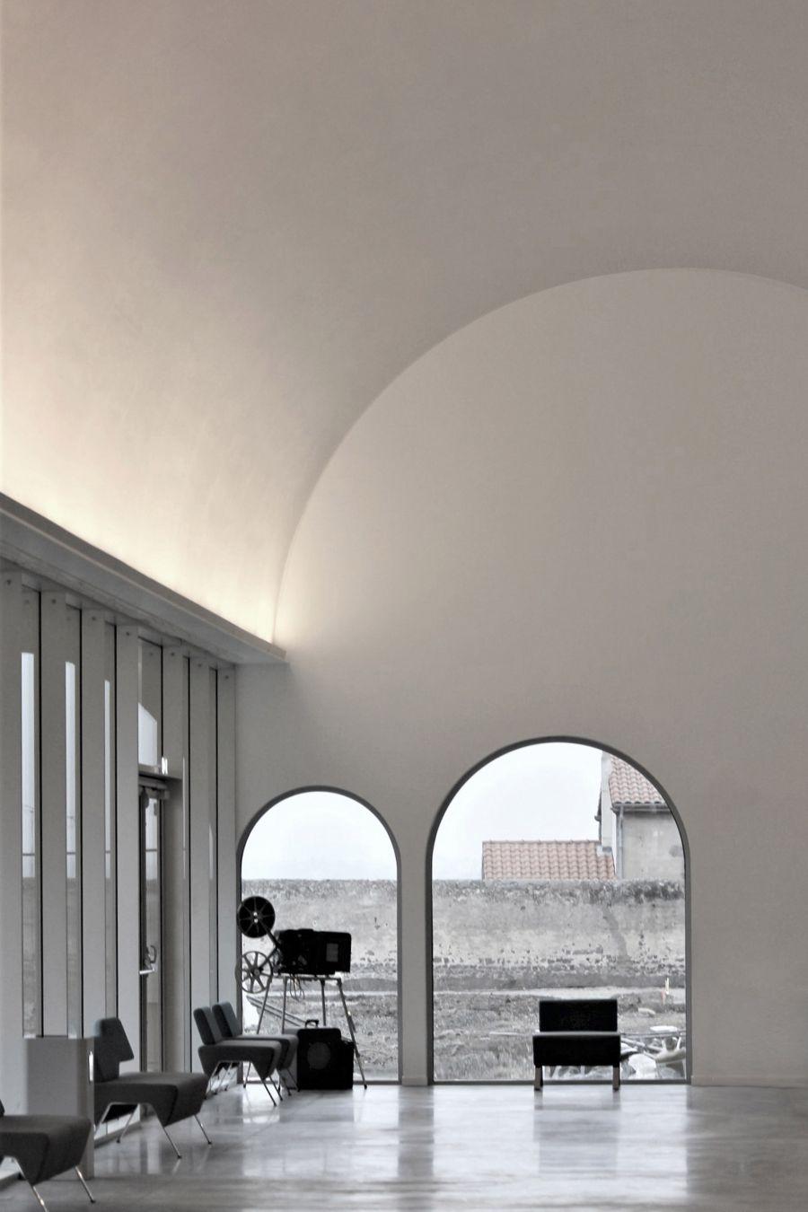 Cinema de Riom - Arch. Tracks architecte © Guillaume Amat