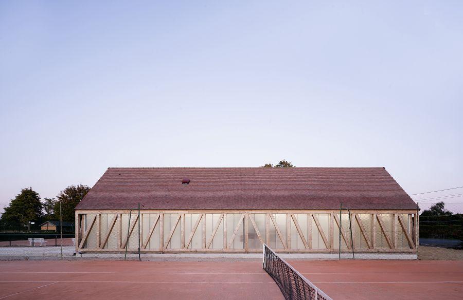 Garden tennis Cabourg - Arch. Lemoal Lemoal © Javier Callejas