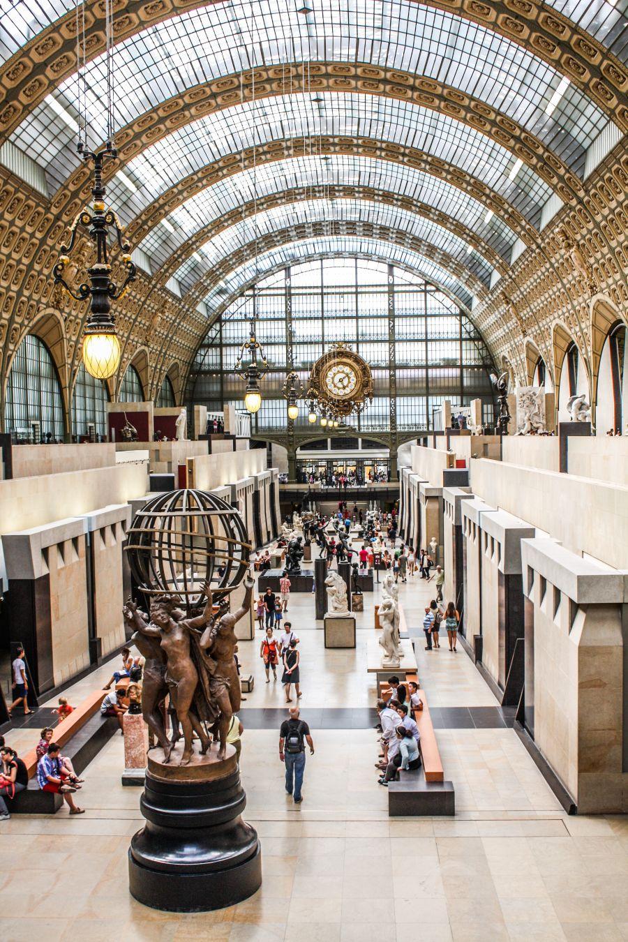 Le Musée d'Orsay, Paris © Shadowgate (CC BY 2.0)