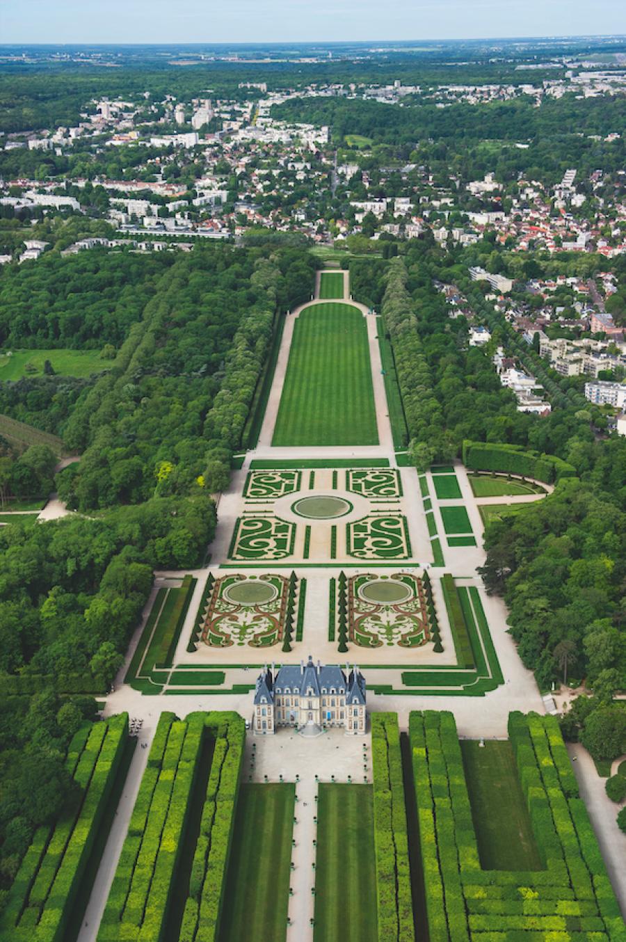 Domaine départemental de Sceanx © Vaux-le-Vicomte