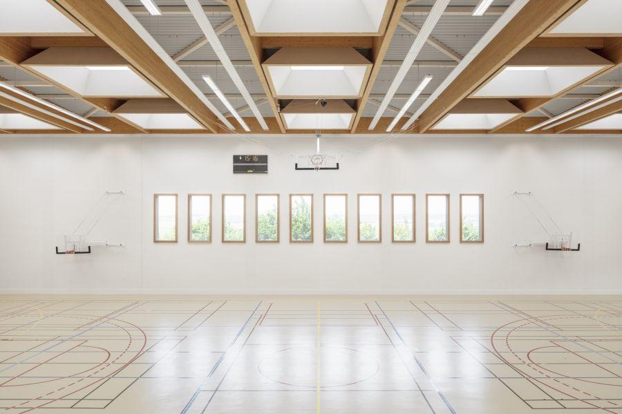 Gymnase de Villepreux - Arch. Joly&Loiret ©  Schnepp Renou