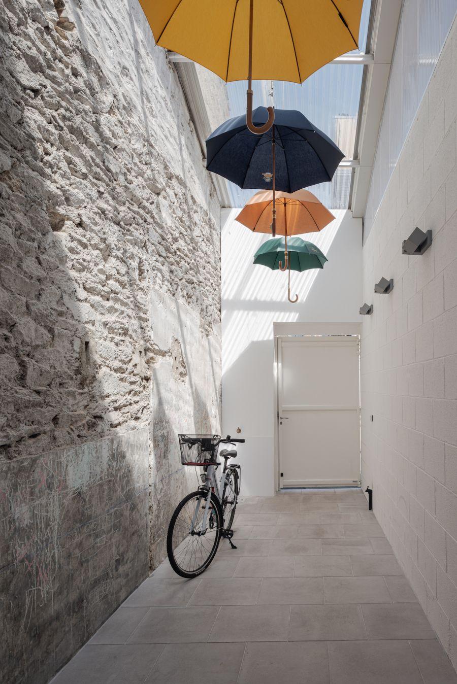 Maison «Parapluies de Cherbourg» - Arch. Trapèze Architecture © Antoine Huot et Baptiste Almodovar