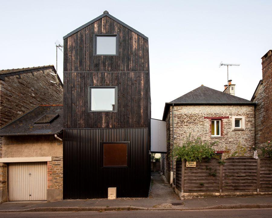 Extension d'une maison individuelle - Arch. Clément Bacle architecte © Gaëtan Chevrier