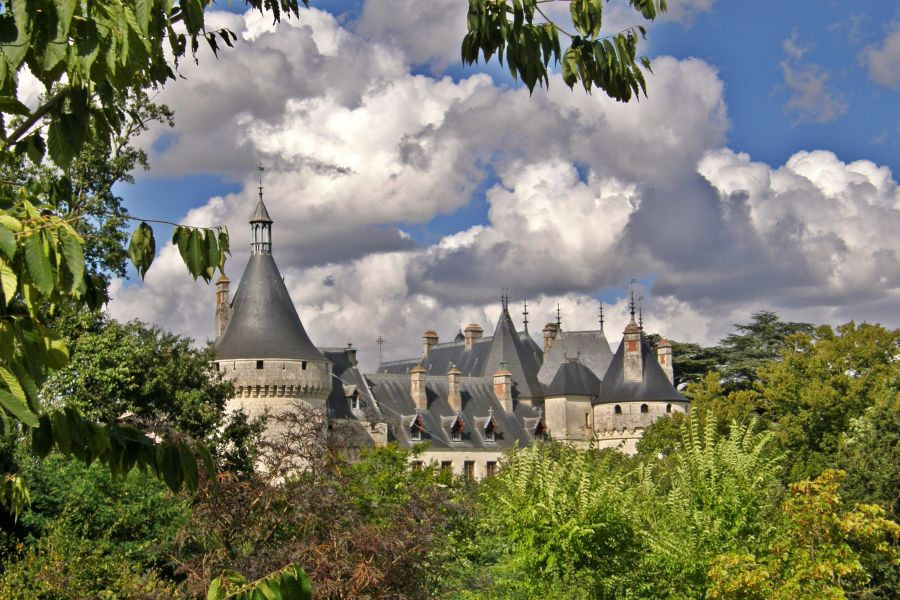 Le château vu des jardins © Bachelot Pierre J-P (CC BY-SA 3.0)