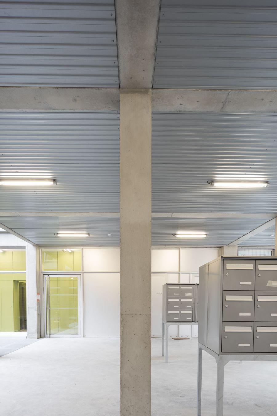 Logements Pantin - Arch. CAB Architectes © Aldo Amoretti et Clement Guillaume