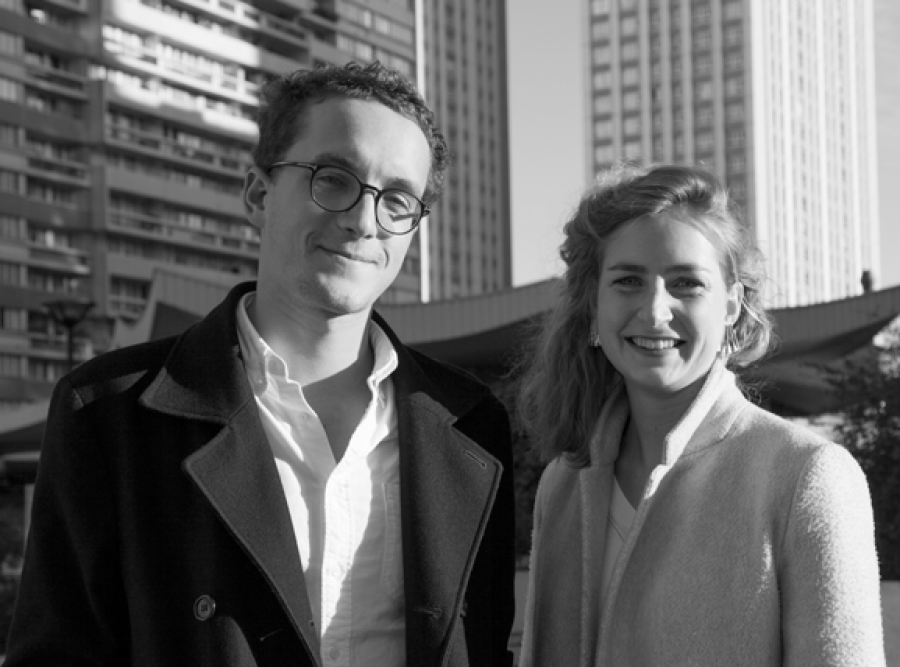 Jeremy Germe et Chloé Thomazo © Pseudonyme Architecture