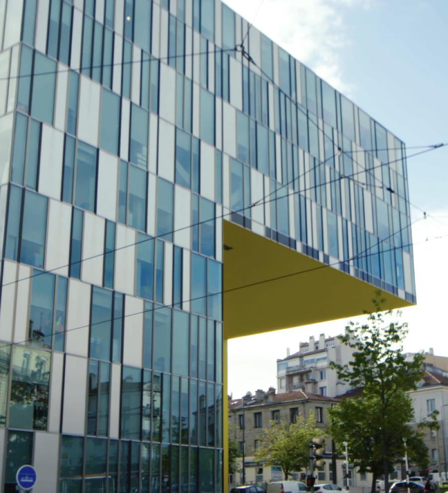 La Cité des Affaires à Saint-Étienne - arch Manuelle Gautrand © L'Instant Archi