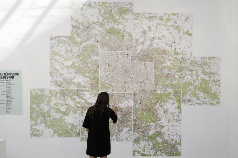 L'art des sentiers métropolitains - Pavillon de l'Arsenal © Vincent Fillon