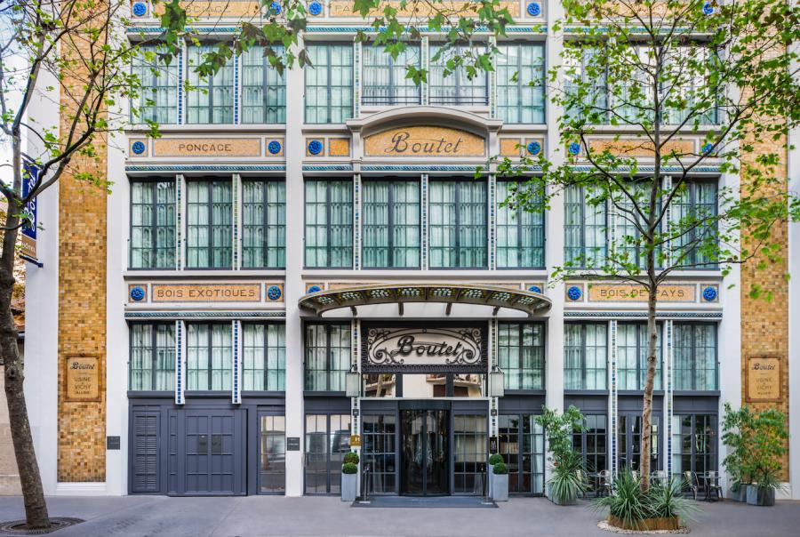 Paris Bastille Boutet - exposition Hôtel Métropole au Pavillon de l'Arsenal © Karl Hab, Pavillon de l'Arsenal