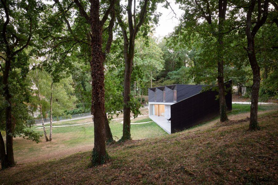 Maison V - Arch.NOVO architectures © David Foessel