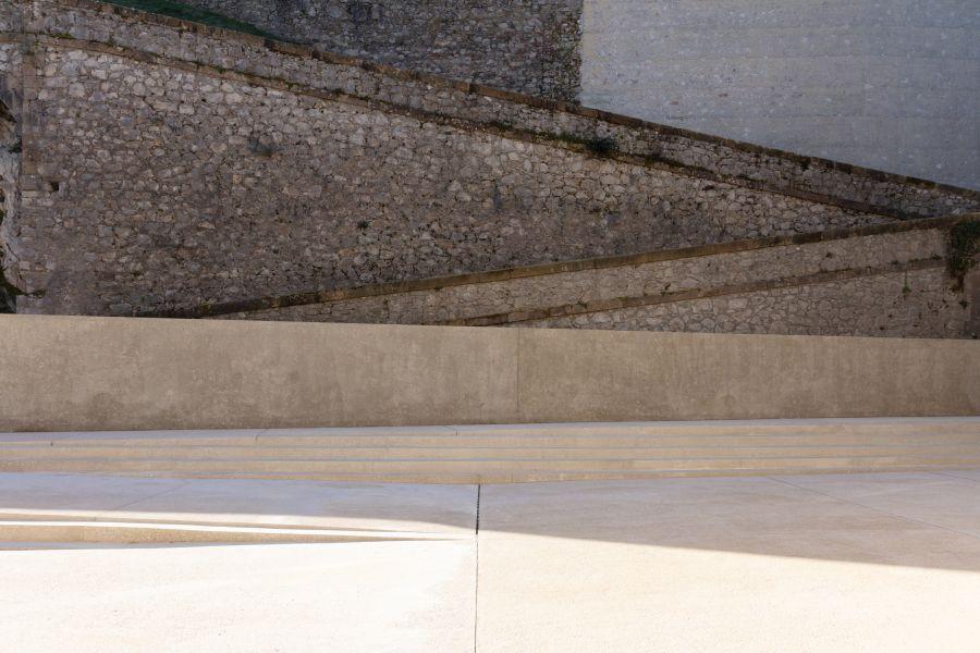Aménagement du site patrimonial du château de Foix - Arch. Cros & Leclercq Architectes et Antoine Dufour Architectes © Antoine Bonnafous, Cros & Leclercq et Antoine Dufour
