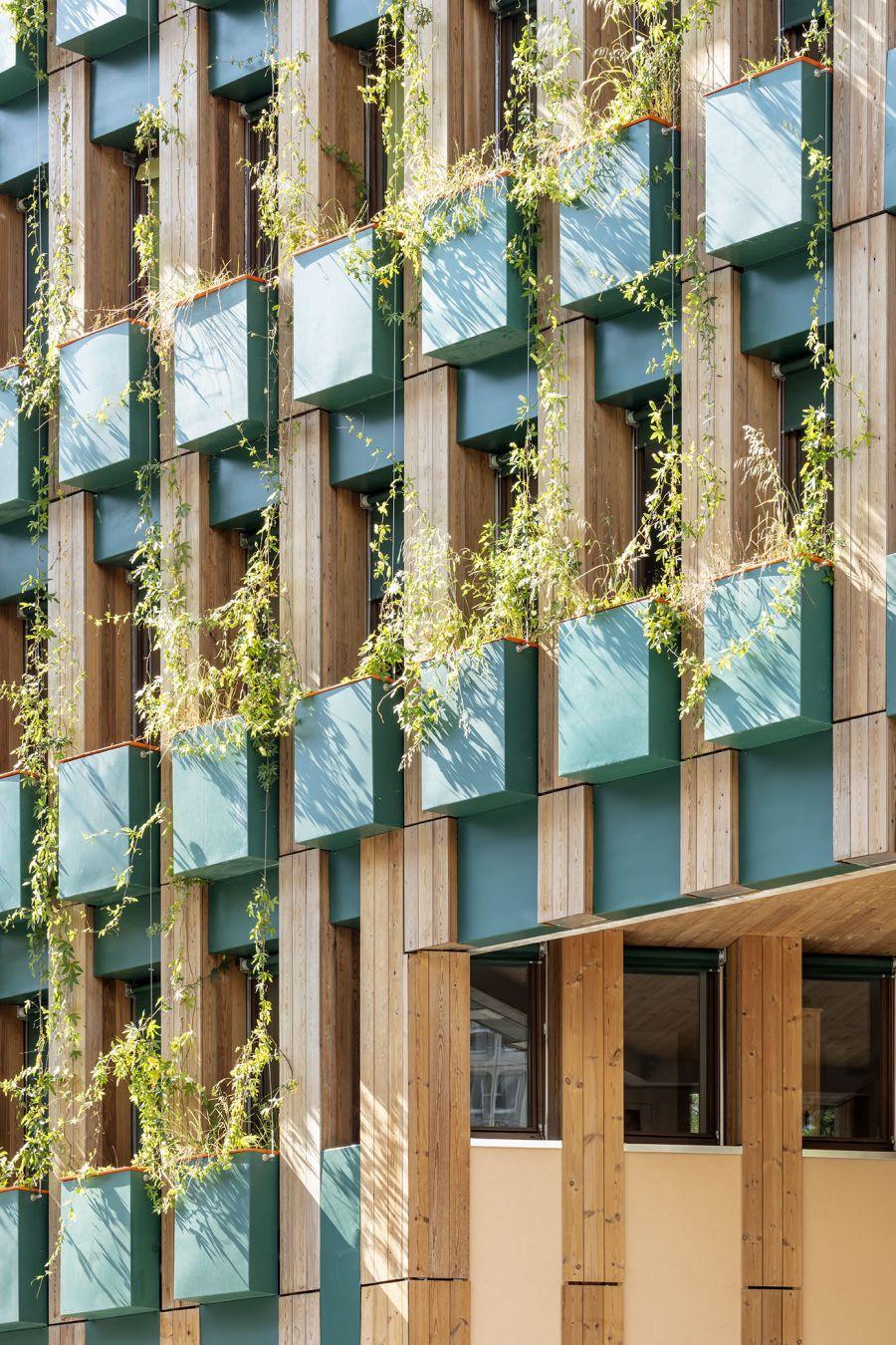 Edison Lite Paris 13 - Arch. Manuelle Gautrand Architecture © Luc Boegly