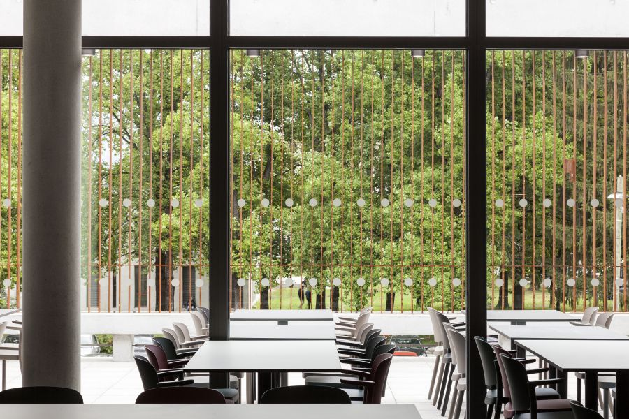 Restaurant universitaire Diderot - Arch. Chapuis Royer Architectures © Andrea Bosio