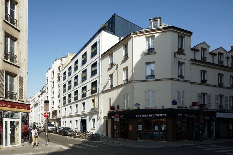 Hôtel Wallace à Paris - Arch. Silvio d'Ascia Architecture © Takuji Shimmura