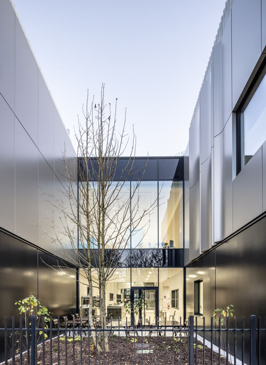 Ecole Ducasse à Meudon-la-Fôret - Arch. Arte Charpentier Architectes © Boegly+Grazia, Florian Bouziges