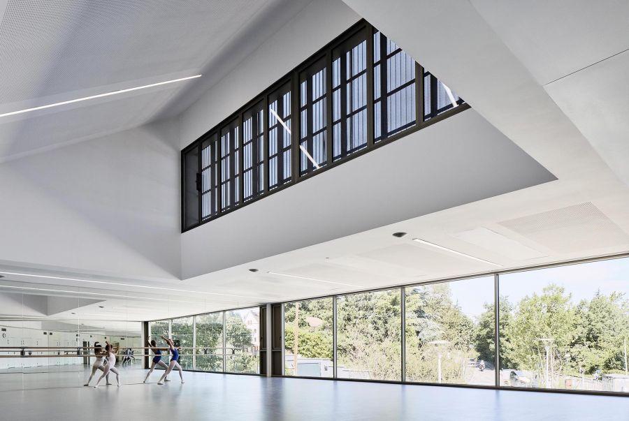 La Maison des Arts à Charbonnières-les-Bains - Arch. Tectoniques Architectes © Renaud Araud