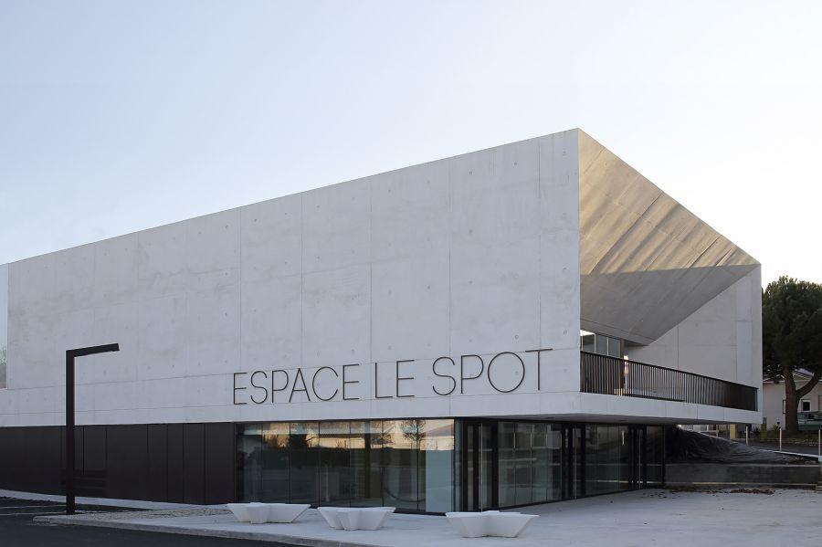 Le Spot à Saint-Palais-sur-Mer - Arch. A6A © Agnès Clotis