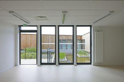 Groupe scolaire Les Bartelottes et Gymnase - Arch. Nomade architectes - Photo : Patrick H. Müller