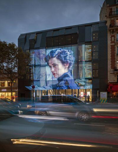 Cinéma Gaumont-Pathé Alésia à Paris - Arch. Manuelle Gautrand Architecture - Photos : Luc Boegly