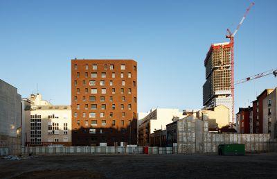 38 logements sociaux à Clichy - Arch. Avenier Cornejo - Photos : Takuji Shimmura