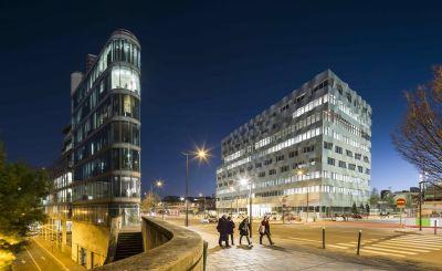 BEOPEN, immeuble de bureau à Paris - Arch. Brenac & Gonzalez & Associés - Photos : Sergio Grazia, Stefan Tuchila
