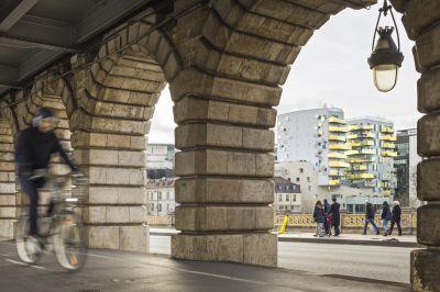 Résidence Fulton à Paris - Arch. Agence Bernard Bühler Architecte - Photo : Sergio Grazia
