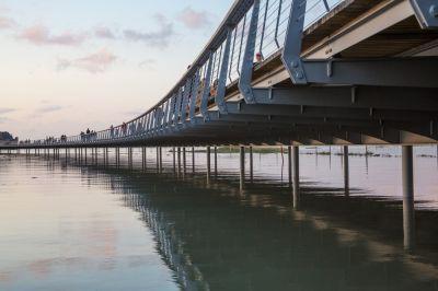 La jetée - Arch. Feichtinger Architectes - Photos : Jose Luis Fuentes