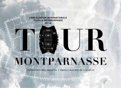 Affiche de l'exposition Metamorphose de la Tour Montparnasse - Pavillon de l'Arsenal