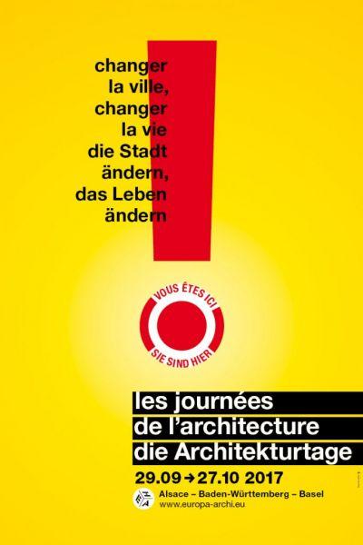 Changer la ville, changer la vie, au programme des Journées de l'architecture