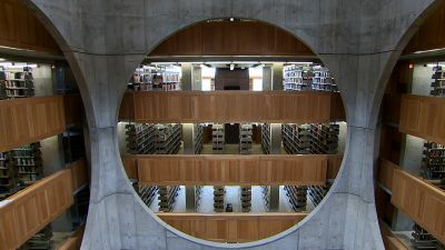 La bibliothèque d'Exeter de Louis I. Kahn © Richard Copans