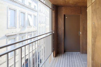 16 logements à Bordeaux - Arch. whyarchitecture - Photo : Benoit Bost