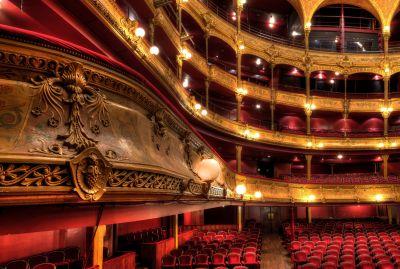 Théâtre du Châtelet avant restauration - Photo © Mairie de Paris / Clément Dorval