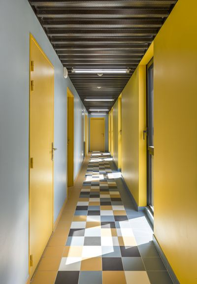 Coallia, résidence et restaurant social à Paris - Arch. Périphériques Architectes - Photos : Luc Boegly, Périphériques