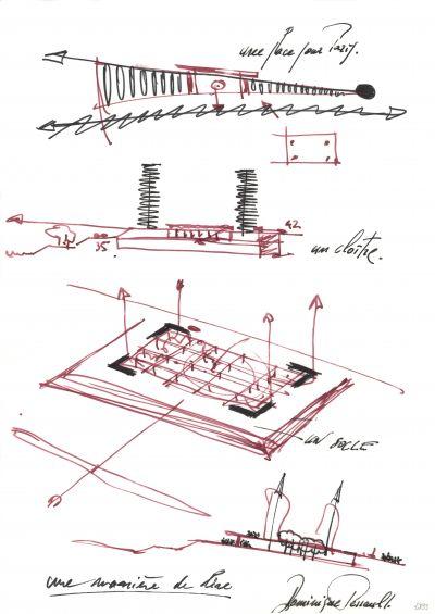 Une manière de lire - © Dominique Perrault Architecte, Adagp