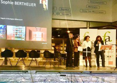 Vincent Lacaille, Véronique Joffre, Catherine Guyot et Sophie Berthelier - Photo : David Abittan