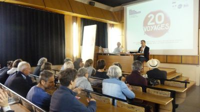 Conférence de Jean-Pierre Le Dantec à l'occasion des 20 Voyages d'Architecture des CAUE d'Île-de-France le 15 octobre 2017