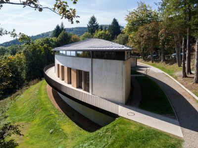 Historial du Hartmannswillerkopf - Arch. INCA Architectes - Photo : Nicolas Castes
