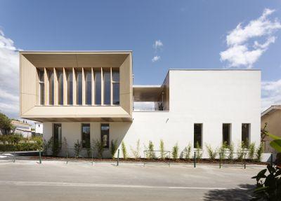 Extension d'une école primaire à Saint-Drézéry - Arch. Thomas Landemaine Architectes - Photo : Marie-Caroline Lucat