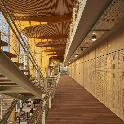 Gare de Lorient Bretagne Sud - Arch. AREP - Photo : Didier Boy de la Tour